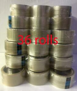 Genuine 3m 369 Bst 1 88 X 54 68 Yard Clear Packing Tape 36 Rolls Free Shipping