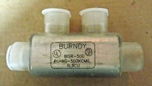 Burndy Bisr500 Insulated Multitap Connector 5 00 In L