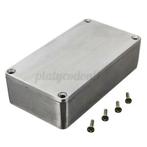 4 4x2 5x1 3 Aluminum Electronics Enclosure Project Box Case Metal Guitar Effect