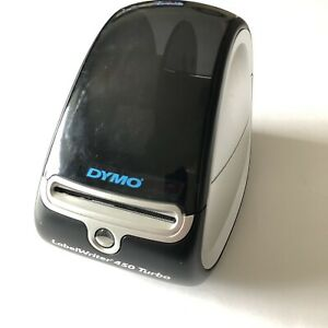 Dymo Labelwriter 450 Turbo Label Thermal Printer Black No Power Cable