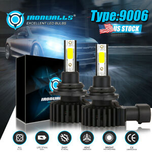 9006 Led Headlight Kit For Chevrolet Silverado 2500 Hd 2001 2007 3500 2001 2006