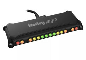Holley 10 Led Fully Customizable Shift Light W 3 Programmable Rpm Ranges