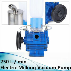 250 L Min Electric Milking Machine Vacuum Pump For Farm Cow Sheep Goat