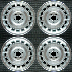 Lincoln Town Car Machined 16 Oem Wheel Set 1998 To 2002