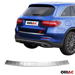 Chrome Rear Bumper Guard Protector Bar S Steel For Mercedes Glc Class 2016 2020