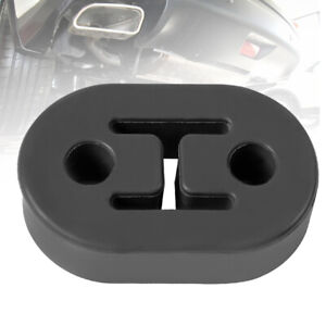 2pcs Rubber Exhaust Tail Pipe Mount Brackets Hanger Insulator 4 Holes Universal
