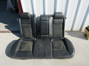 2009 Dodge Charger Rt 2nd Row Rear Seats