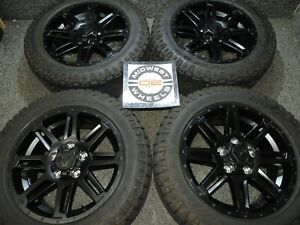 2020 Toyota Tundra Tss 20 Black Wheels Factory Oe P275 55r20 Gdy At Tires 07 21