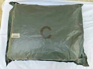 Military U s Camouflage Chemical Protective Suit Sealed Bag X Large 1988