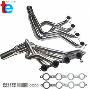Long Tube Stainless Racing Exhaust Headers Ls1 For 98 02 Chevrolet Camaro V8