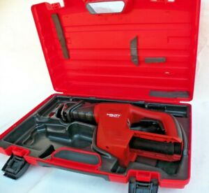 Hilti Wsr 650 a 24v Cordless Reciprocating Saw Tool Only W Case Mint Free S h