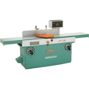 Grizzly G9953zxf 16 X 99 3 phase Z Series Jointer W Spiral Cutterhead