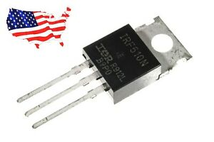 Irf510 5 Pcs N channel 100v 5 6a To 220 Power Mosfet From Usa