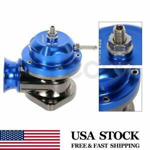 Blow Off Valve Universal Anodized Type Rs For Turbo Bov 2 5 Flange Pipe Blue