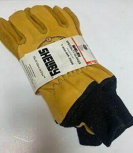 Shelby Firefighters Gloves Cowhide Size Jumbo
