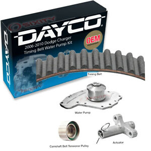 Dayco Timing Belt Kit With Water Pump For 2006 2010 Dodge Charger 3 5l V6 Ky