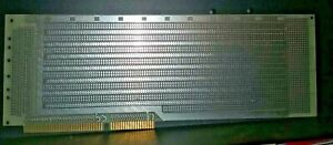 Vector ibm Prototyping Circuit Board With Edge Connector