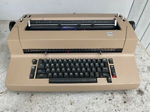 Authentic Ibm Correcting Selectric 2 Typewriter And Two Extra Font Balls read