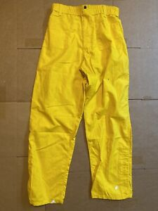 Pia Firefighter Wildland Brush Pants Nomex M 32 Unused Deadstock Yellow