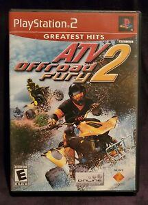 ATV Offroad Fury 2 (Sony PlayStation 2 PS2  2002) Complete  Clean  Free Shipping