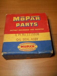 1946 1947 Dodge Chrysler Nos Axle Inner Oil Seal Oem Mopar 1115938 Sealed Box