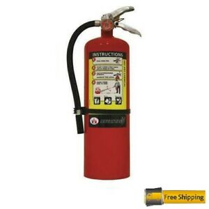 Badger Advantage 10lb Fire Extinguisher W Wall Hook Abc Dry Chemical Adv 10