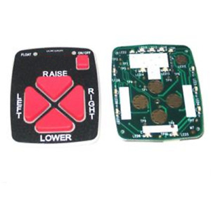 Western Plow Part 56472 Straight Blade Controller Pcb Assembly With Keypa