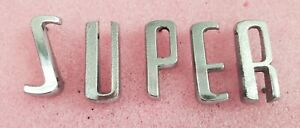 1957 Buick Super Trunk Letters Nice