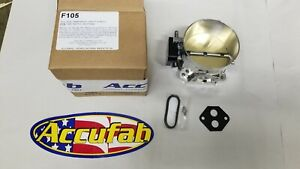 86 93 Mustang 5 0 Accufab F105 105mm Race Throttle Body 302 Turbo Supercharger