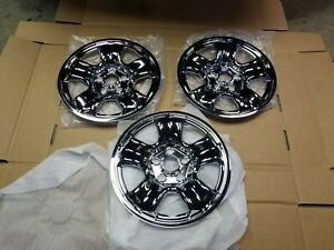 3x 2012 2016 Honda Cr V Lx Imposter Hubcaps Skin Wheel Cover 16 Steel Chrome