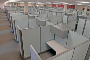 Used Steel Case Office Cubicles Workstation 6x6 5 6x9 6x11
