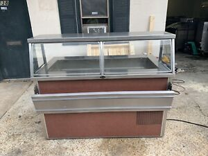 Randell Hot Cold Combo Steam Table Salad Bar