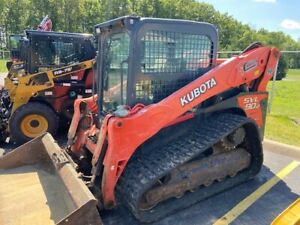 Used Kubota Track Loader Model Svl90 2ho