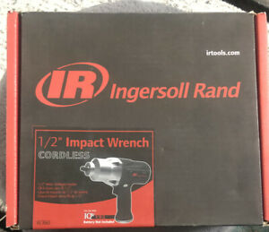 Ingersoll Rand Impact Wrench W360 1 2 In Cordless Impact 19 2 V