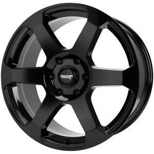 4 American Racing Ar931 18x8 5 5x150 30mm Gloss Black Wheels Rims 18 Inch