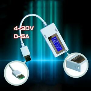 Dual Usb Voltage And Current Meter Charging Tester Flash Charging Hot Sale