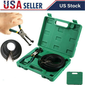 Automotive Auto Engines Piston Ring Compressor Tools Set With Pliers 14 Bands