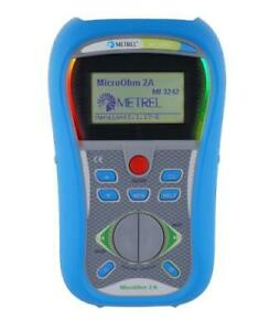 Metrel Mi 3242 Microohm 2a Dlro Low Resistance Ohmmeter 1 Up To 199 9