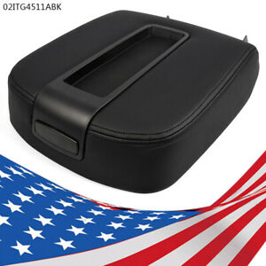 Fit 07 14 Silverado Sierra 1500 Front Center Console Lid Kit Armrest Cover