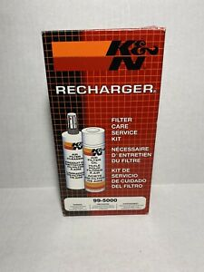 K n Air Filter Recharger Cleaning Kit Kn99 5000 Cleaner Oil Recharge Kit Service
