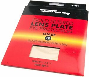 Forney 57071 Lens Replacement Gold Welding Filter 4 1 2 inch by 5 1 4 inch Sha