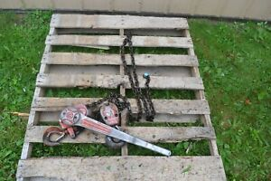 Cm Series 640 Lever Chain Hoist 3 Ton 10 Lift Come Along Puller Free Shipping