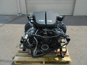 2006 06 07 08 09 10 Bmw M5 E60 E63 E64 S85 500hp 5 0l V10 Engine 75k Miles 3246