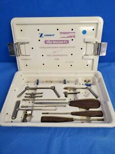 Zimmer Mini Magna fx 1142 86 Cannulated Fixation System Surgical Orthopedics