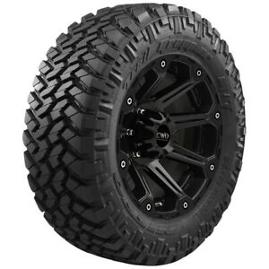 4 Lt285 75r16 Nitto Trail Grappler M T 126 123q E 10 Ply Tires