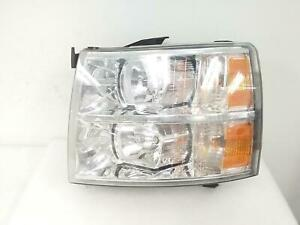 2008 2009 2010 2011 2012 2013 Chevy Silverado 1500 Headlight Left Lh Driver Oem