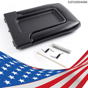 Center Console Lid Repair Kit For Chevy Gmc Cadillac Pickup Truck Suv Black
