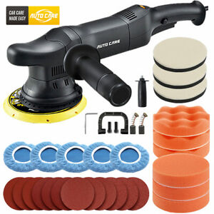 6 Dual Action Da Polisher Orbital Buffer Sander Car Waxing Polishing Machine Us
