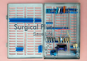 Liposuction Luer Lock Cannula Nano Fat With Sterlize Tray Cosmetic Surgery