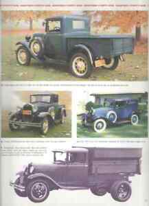 1931 Ford Model A Article Must See Pickup Truck Town Sedan Deluxe